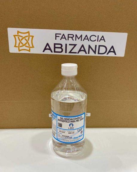 Gel Hidroalcohólico Antiséptico par Piel Sana 500 ml Iberklin