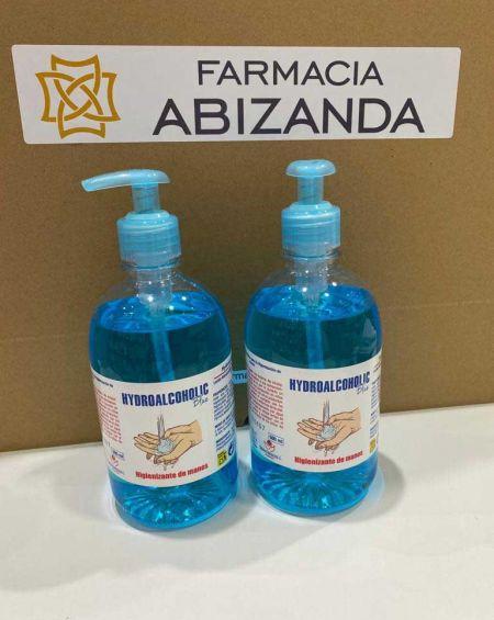 Gel Hidroalcohólico Blue Antiséptico para Piel Sana 500 ml