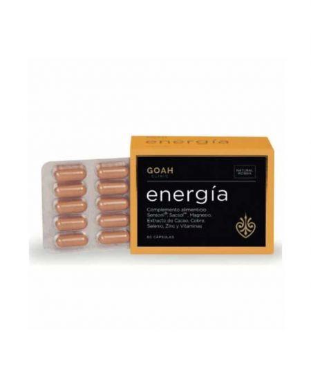 Goah Clinic Energía 60 cápsulas