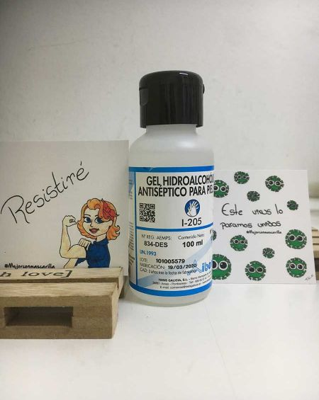 Gel Hidroalcohólico Antiséptico par Piel Sana 100 ml Iberklin