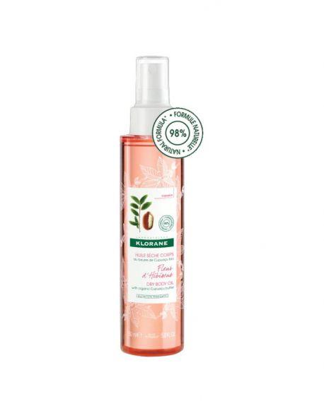 Aceite con manteca de Cupuaçu bio Fleur d'Hibiscus de Klorane 150 ml