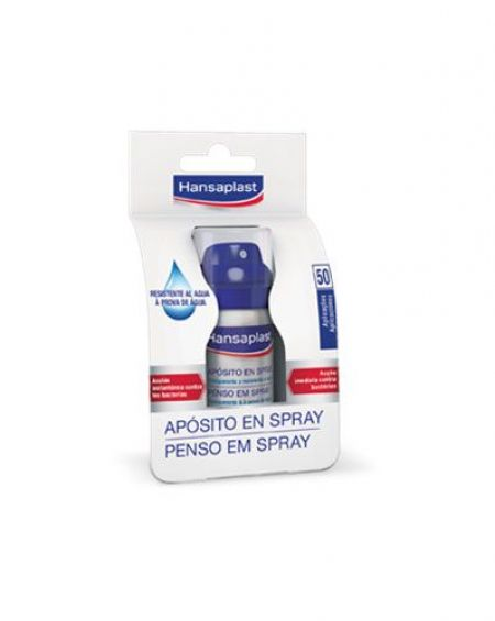Hansaplast Apósito en Spray transparente 32,5 ml