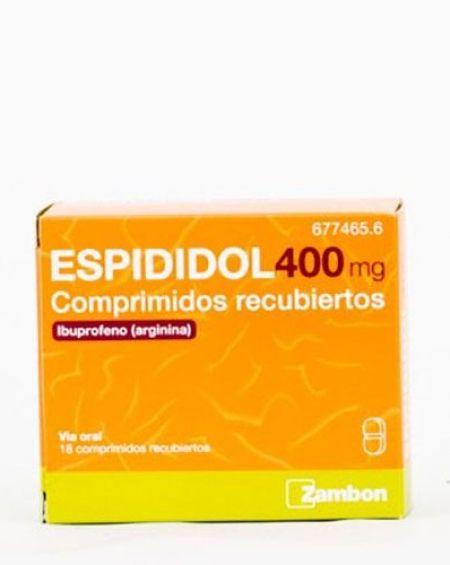 Espididol 400 mg 18 comprimidos