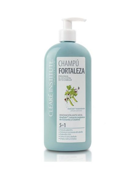 Chaampú Fortaleza Anticaída - Cleare Institute 400 ml