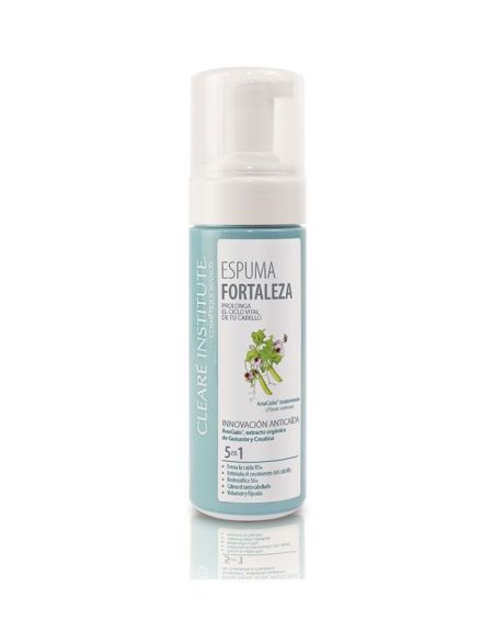 Espuma Fortaleza Anticaída - Cleare Institute - 150 ml.