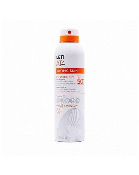 LetiAT4 Solar Piel Atópica.  Defense Spray 200 ml