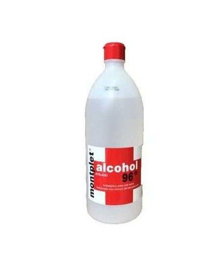 Alcohol Etílico 96º Montplet 1000ml