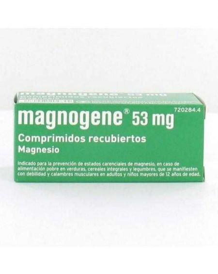 Magnogene 53 mg comprimidos recubiertos  Magnesio