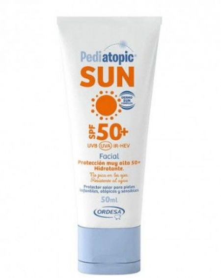 Pediatopic Sun Crema Facial SPF50+ 50ml