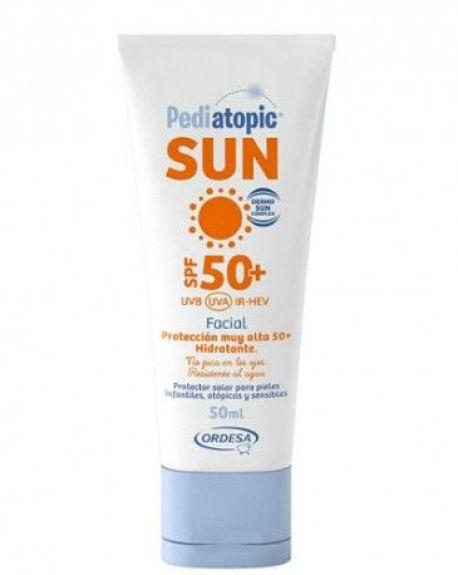 Pediatopic Sun Crema Facial SPF50+ 50ml