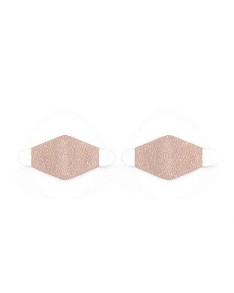 Mascarillas reutilizables de tela de Adultos rosa años de Suavinex 2 unidades