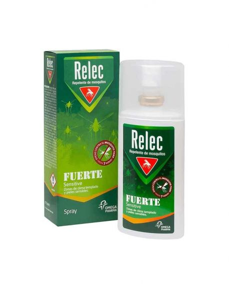Relec Relec Fuerte Sensitive Repelente 75 ml