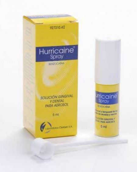HURRICAINE SPRAY 200 mg/ml SOLUCION PARA PULVERIZACION BUCAL.