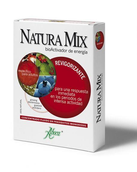 Natura Mix revigorizante fluido de Aboca
