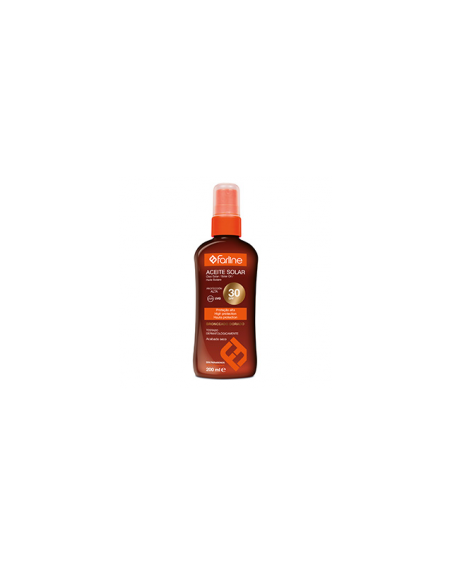 FARLINE ACEITE SOLAR SPF 30+ 200 ML