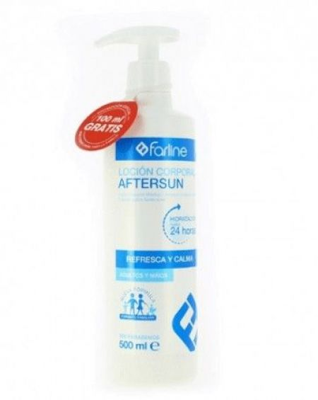 Farline Loción Corporal Aftersun 500ml