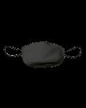Mascarilla de tela adulto reutilizable 50 usos. Talla S Gris Antracita