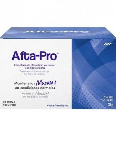 Afta-Pro 6 sobres de 6 gr Aftas Bucales
