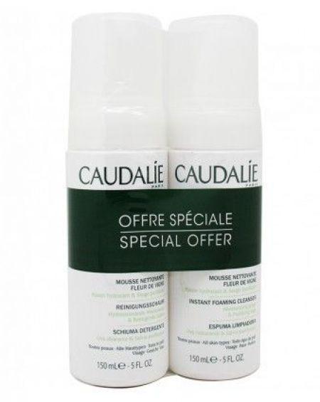 Duplo Espuma limpiadora de Caudalíe 150 ml