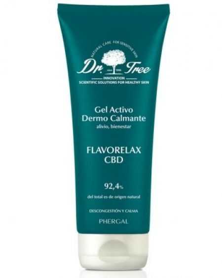 Dr. Tree Flavorelax 200 ml  CBD Gel Activo Dermocalmante 200 Ml