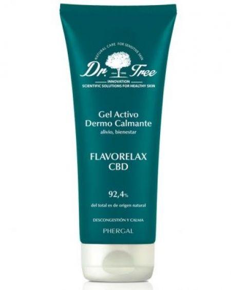 Dr. Tree Flavorelax 200 ml CBD Gel Activo Dermocalmante 200 Ml