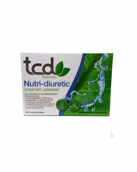 TCD Nutri-diuretic 20 comprimidos