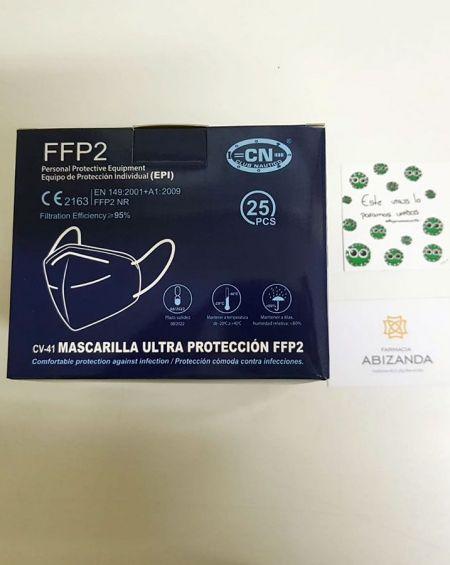 Mascarilla FFP2 Caja 25 unidades