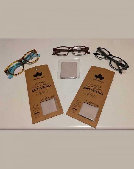 Gamuza Anti-Vaho para gafas