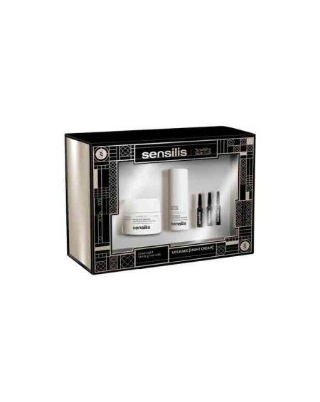 Sensilis Pack Upgrade - Crema Noche 50ml + Contorno de ojos 15ml + 3 Ampollas