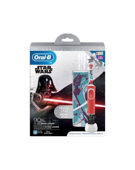 Cepillo Dental Eléctrico Infantil STAR WARS-B STAGES +3 Años suave.