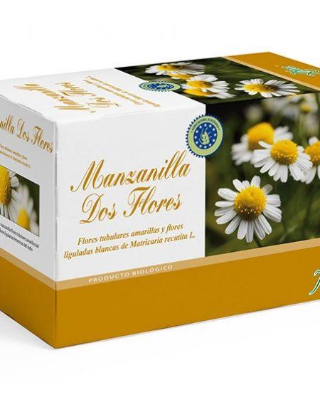 Manzanilla dos flores biotisana de Aboca