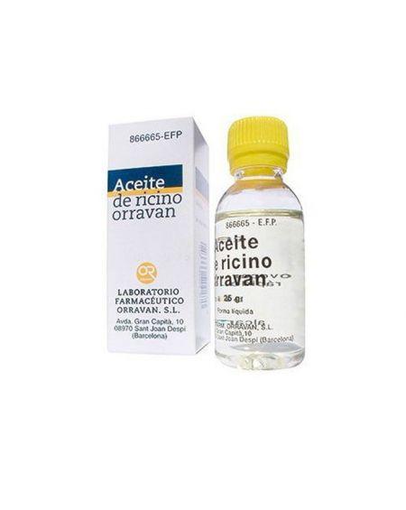 Aceite de Ricino Orravan 1g/ml líquido oral