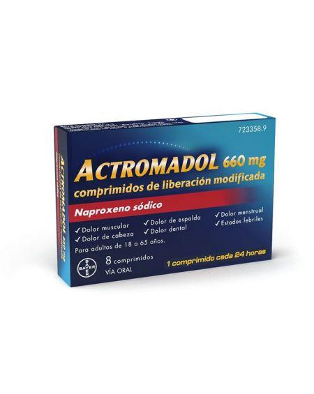 Actromadol 660 mg Comprimidos de Liberación Modificada