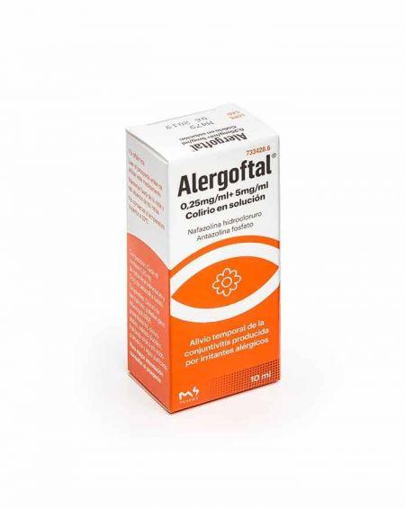 Alergoftal 0,25mg/ml+ 5mg/ml Colirio en solución