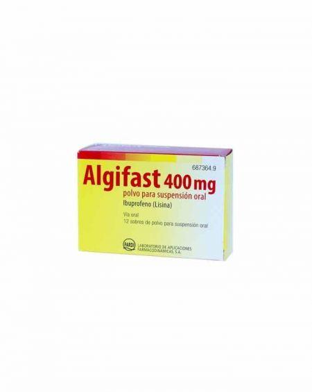 Algifast 400 mg polvo para suspensión oral 12 sobres