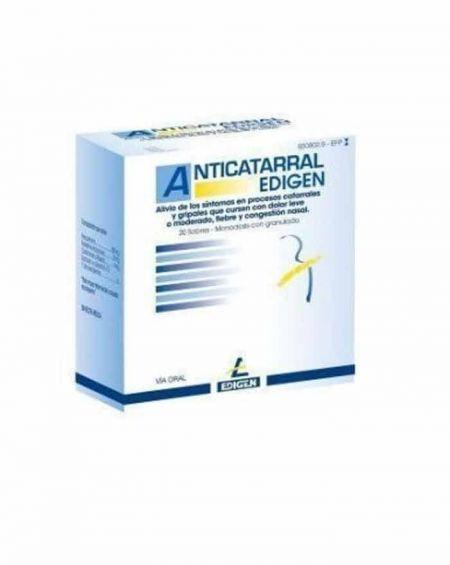 Anticatarral Edigen polvo para solución oral 10 sobres
