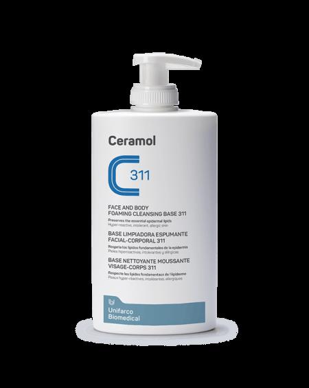 Ceramol 311 Base Limpiadora Espumante Facial-Corporal 400 ml