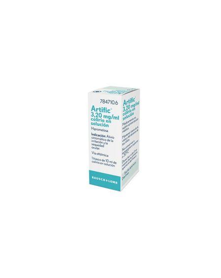 Artific 3,20 mg/ml colirio en solución 10 ml
