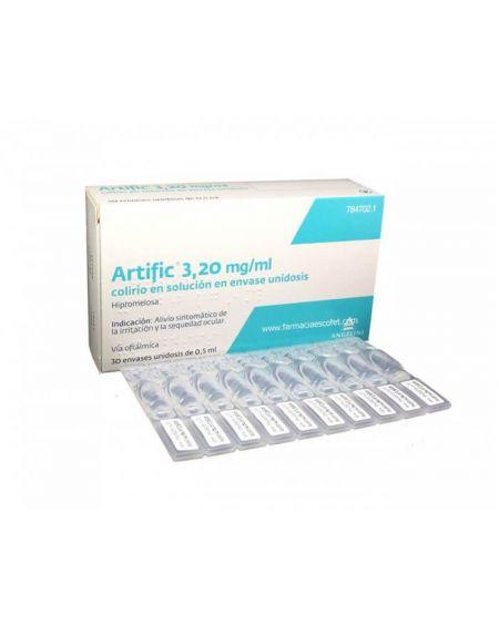 Artific 3,20 mg/ml colirio en solución en envases monodosis