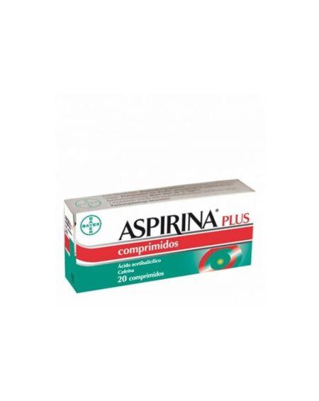 Aspirina Plus 500 mg / 50 mg 20 comprimidos