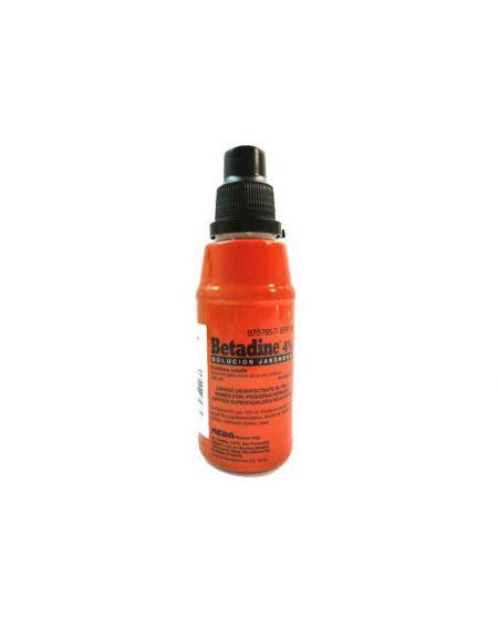 Betadine solución jabonosa 4 % 125 ml