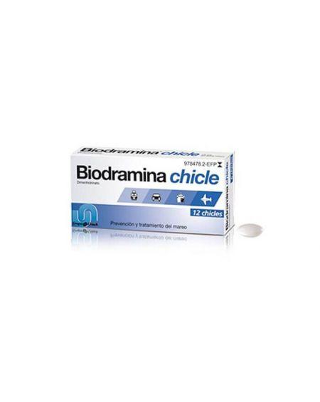 Biodramina 20 gr chiles 12 unidades