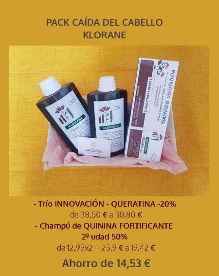 Pack Promoción Klorane Caida del Cabello