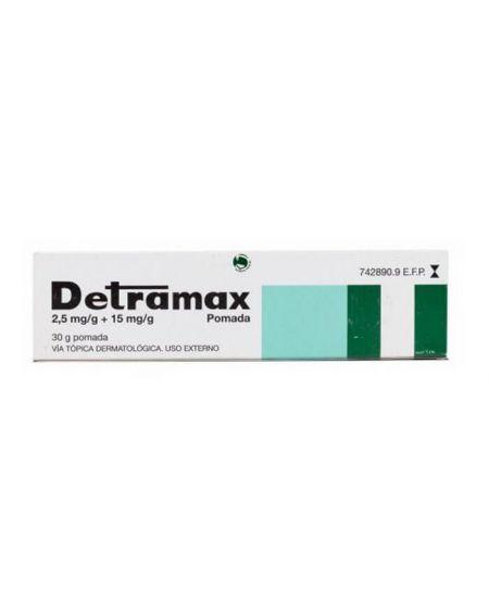 Detramax 2,5 mg/g+ 15 mg/g pomada 30 gr