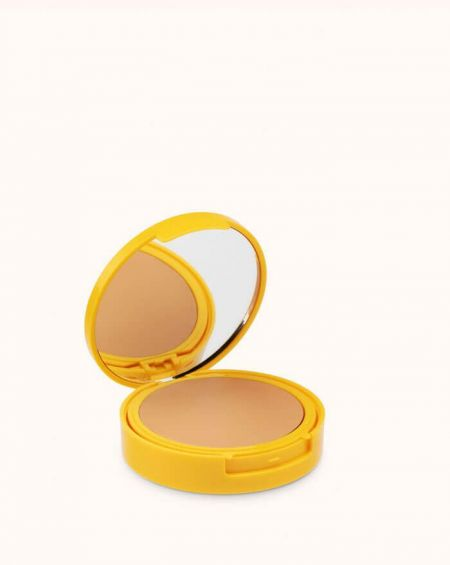 Sensilis Sun secret maquillaje compacto protección 50+ SPF 02 golden