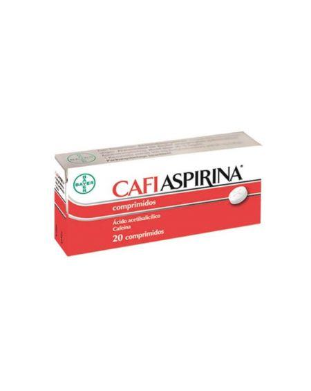 Cafiaspirina 500 mg / 50 mg 20 comprimidos