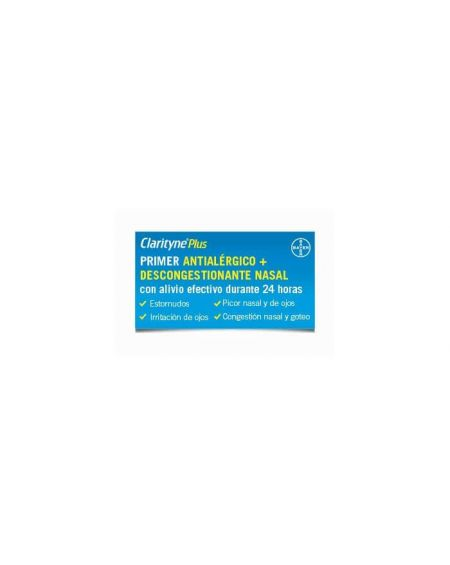 Clarityne Plus 10 mg /240 mg 7 comprimidos