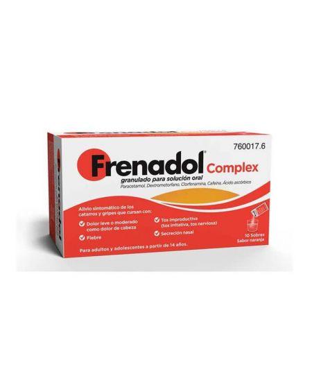 Frenadol Complex granulado10 sobres