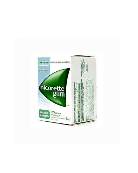 Nicorette 4 mg chicles 105 unidades