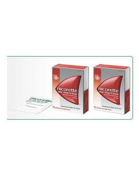 Nicorette 15 mg 14 parches